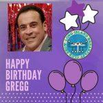 Happy Birthday Gregg From The Long Island Breakfast Club